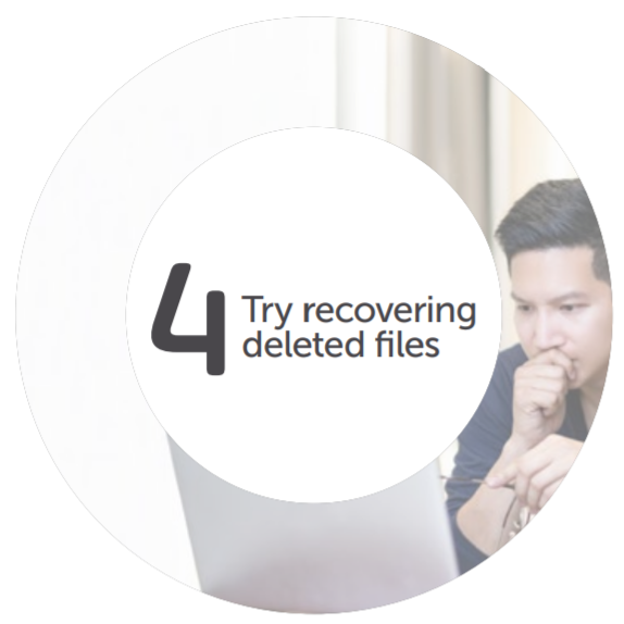 Recovering Deleted Files