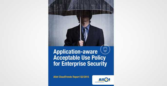 Application-aware Acceptance Use Policy for Enterprise Security