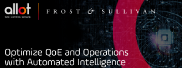 Frost & Sullivan: Optimize QoE and Operations with Automated Intelligence