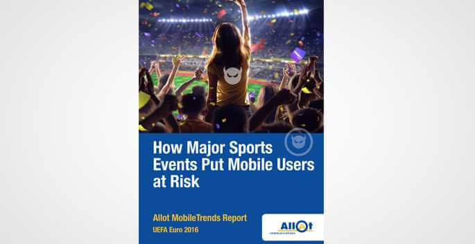 How major sports events put mobile users at risk?